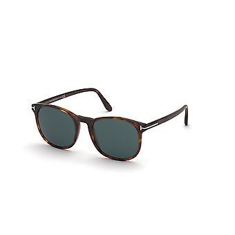Tom Ford ANSEL TF858 54V Red Havana/Blue Sunglasses