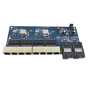 Gigabit Ethernet Switch Ethernet Fiber Optical Media Converter Single Mode