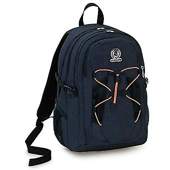 Invicta Active Benin Eco-Material Backpack, Black, 25 Lt, Double Compartment, Laptop Pocket up to 13'',School & Outdoor