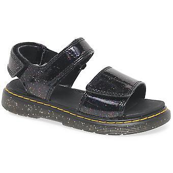 Dr. Martens Romi Girls Junior Cosmic Glitter Sandalen