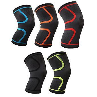 1 Paar Kniepolster Sport Fitness atmungsaktive Nylon KnieGelenk Protektor