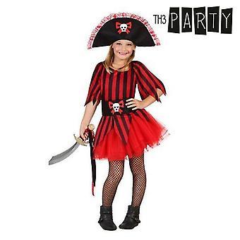 Kostüm für Kinder Piraten (4 Stk)