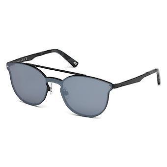 ユニセックス サングラス ウェブ 眼鏡 ブラック