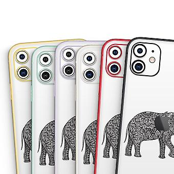 Black And White Aztec Ethnic Elephant - Skin-kit Compatible With The