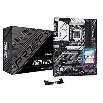 ASRock Z590 Pro4 インテルソケット1200 ATX HDMI/ディスプレイポートUSB 3.2タイプC RGBマザーボード