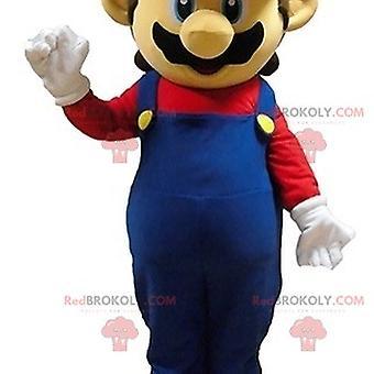 Mario Mascot REDBROKOLY.COM kuuluisa videopelihahmo
