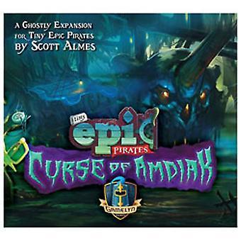 Tiny Epic Pirates the Curse of Amdiak Expansion Set
