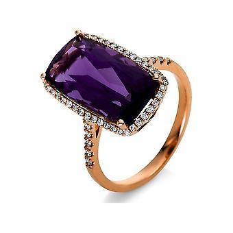 Luna Creation Promessa Кольцо Цвет Камень 1S099R854-4 - Ширина кольца: 54
