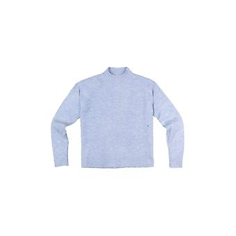 Shuuk Turtleneck Long Sleeves Crop Top - Women's Soft and Warm Fabric Sweaters