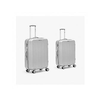 Set Maleta M-s Flight Silver (Kabine ohne Tsa)