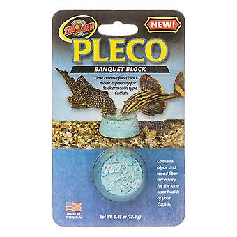 בלוק משתה גן החיות Med Pleco - 1 חבילה - (0.45 אונקיות / 12.8 גרם)