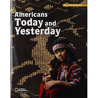 ROYO READERS LEVEL C AMERICANS TODAY & YESTERDAY