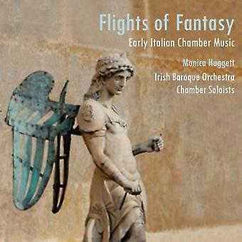 Huggett/Irish Baroque or - Flights of Fantasy: Early Italian Chamber Music [CD] USA import