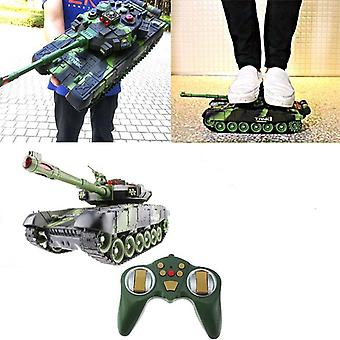 44CM RC Tank Military Tactical Vehicle Lighting Off Road Tracked Remote Control Tanks Model Chassis