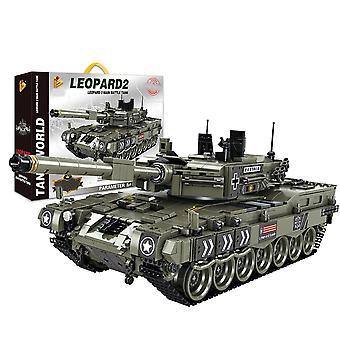 1747Pcs Militaire Technic Iron Empire Tank LegoINGs Bouwstenen Sets Wapen Oorlog Strijdwagen