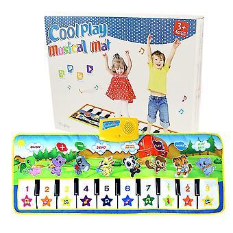 100x36cm Big Musical Mat Legetøj Klaver Legetøj Musik Afspilning Mat Kids Uddannelse Learning Music Mat