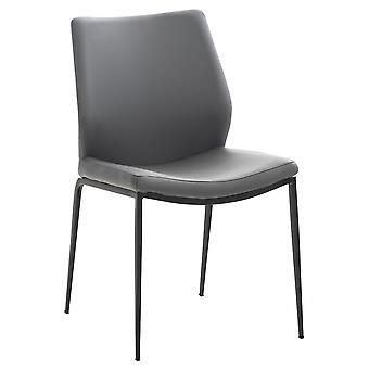 Esszimmerstuhl - Esszimmerstühle - Küchenstuhl - Esszimmerstuhl - Modern - Grau - Metall - 51 cm x 57 cm x 86 cm