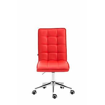 Toimistotuoli - Pöytätuoli - Kotitoimisto - Moderni - Punainen - Metalli - 43 cm x 61 cm x 90 cm