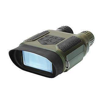 """Цифровой бинокль ночного видения для взрослых - 1300 FT / 400M охотничья камера ночного видения очки с 32G TF card 4 """"ЖК-экран для дикой природы, (зеленый)"""