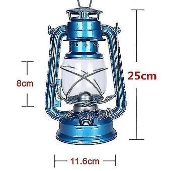 Camping valot lyhdyt retro ulkona camping kerosiini lamppu öljy kevyt lyhty välimeren tyylinen sisustus monitoimirauta