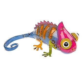 Holiday ornament displays stands joe davis jazzy junk multi coloured metal chamelean