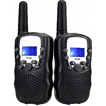 Intercoms walkie talkies  kids 22ch walkie talkies for kids toys with belt clip and flashlight  birthday christmas gifts