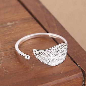 Minimalistisch verstellbarer Silberschmuck geometrische Ringe für Frauen (Syjz068)