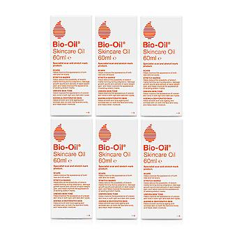 Bio-Oil 60ml For Scars, Stretch Marks And Uneven Skin Tone - Pack of 6