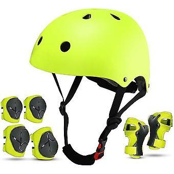 Kinder Fahrradhelm Kleinkind Helm Sport Schutzausrüstung Set Junge Mädchen Verstellbarer Helm