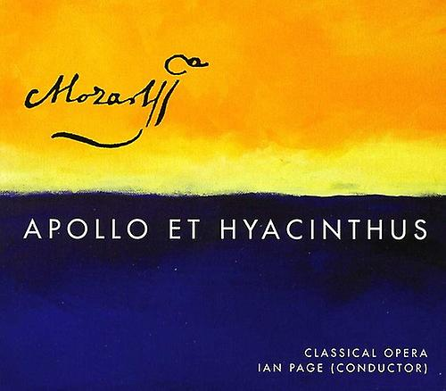 W.a. Mozart - Mozart: Apollo Et Hyacinthus [SACD] USA import