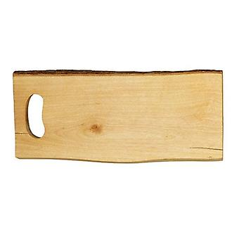 Rectangular Board Rustica Wood Ideal for Serving Appetizers Food Snacks Parties