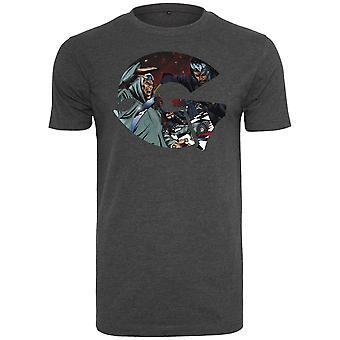 Wu-wear hip hop shirt - GZA type charcoal