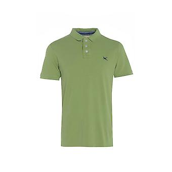 Mænds grønne kortærmet Polo T-Shirt TP558-M