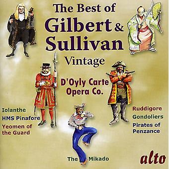 D ' Oyly Carte Opera Company - The Best of Gilbert & Sullivan: Vintage d ' Oyly Carte [CD] USA Import