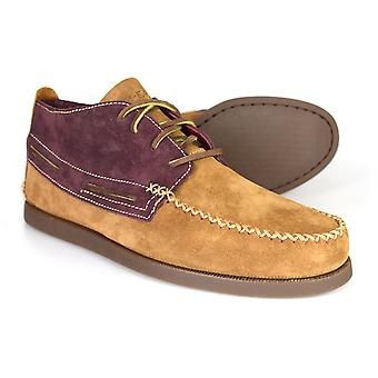 Sperry A/O Wedge Chukka Tan Brown Desert Boots STS13907