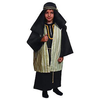 Børns kostumer Joseph kjole kostume barn jul