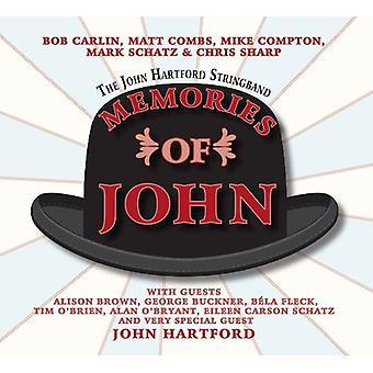 Hartford, John Stringband - Erinnerungen von John [CD] USA import