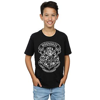 Harry Potter Hogwarts chłopców herb T-Shirt