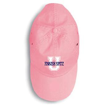 Carolines tesori Spitz finlandese 156U-4058-PKBL Cappellino 156U-4058