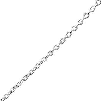 Plain - 925 Sterling zilveren enkel kettingen - W23896x