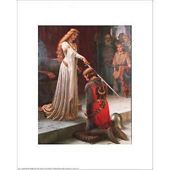 כרזה אקולייד להדפיס על ידי אדמונד בלייר לייטון (16 x 20)