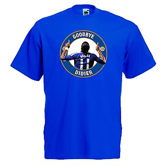 Chelsea Goodbye Drogba T-Shirt (Blue)