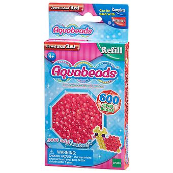 Aquabeads Jewel Bead Pack - Rosu
