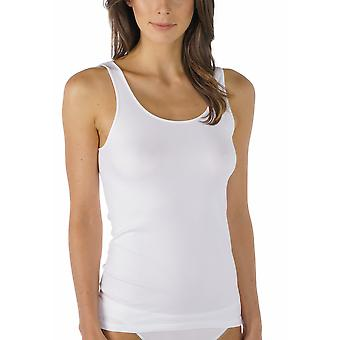 Mey 55204-1 Women's Emotion White Solid Colour Tank Vest Top