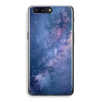 OnePlus 5 Transparant Case (Soft) - Nebula