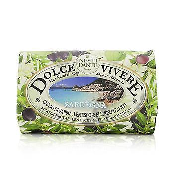 Nesti Dante Dolce Vivere multa sabão Natural - Sardegna - Myrtle néctar Lentiscus & Helycrisum arbusto - 250g/8,8 oz