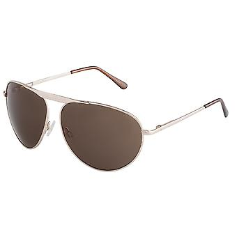Classic sunglasses for men by Carlo Monti with 100% UV protection | sturdy metal frame, high quality sunglasses case, microfiber glasses pouch and 2 year warranty | SCM108-122 Modena
