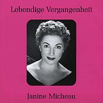 Rossini/Bizet/Gounod - Lebendige Vergangenheit: Janine Micheau [CD] USA import
