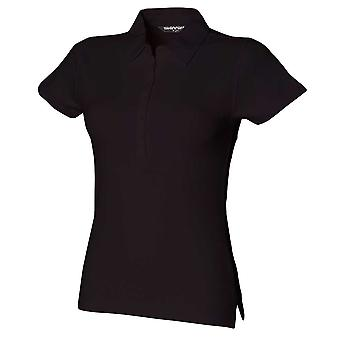 Skinni Fit Womens Short Sleeve Stretch Polo Shirts