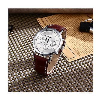 Luxury Silver Chrono Watch Time Called Elegant